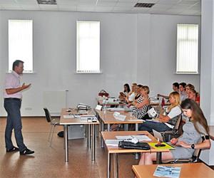 Мастер-класс для студентов PR-программы: построение отношений с инвесторами