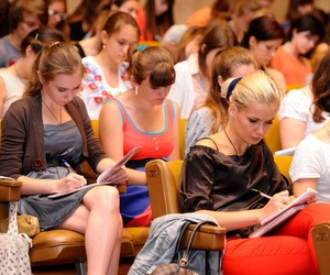 В КНУ Шевченко состоялся творческий конкурс на журналистику (фото)