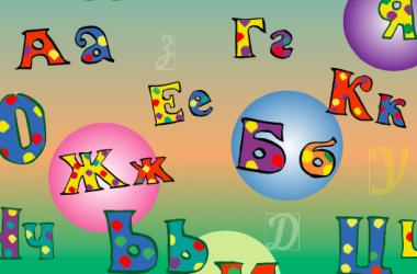Изучаем большие и малые буквы алфавита