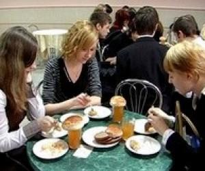 15% столовых в учебных заведениях работают с нарушениями